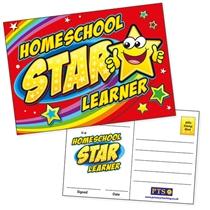 Homeschool Star Learner Postcards (20 Postcards - A6)