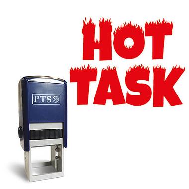 Hot Task' Stamper | 25mm | Red...