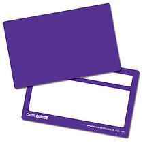 House Colour Purple CertifiCARDS (10 Wallet Size Cards)