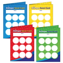 House Colour Stamper Saver Cards (32 Cards - A6)
