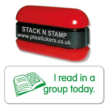 I read in a group today Stack & Stamp - Green Ink (38mm x 15mm)