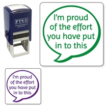 I'm Proud of the Effort You've Put Into This Stamper (25mm)