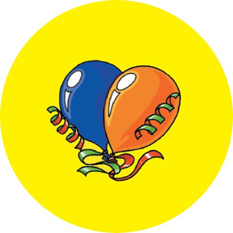 Customised Birthday Balloons Stickers