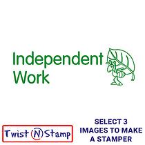 Independent Work Stamper - Twist N Stamp