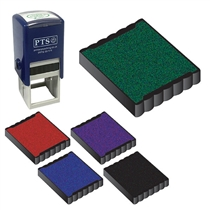 Ink Pad Refill for 25mm Self Inking Stampers Choose Colour