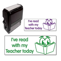 I've Read With My Teacher Today Stamper (38mm x 15mm)