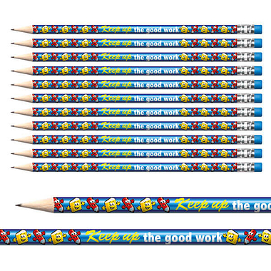 Keep Up The Good Work Pencils (12 Pencils) Brainwaves