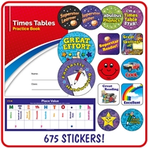 Key Stage 2 Value Pack (675 Stickers, Poster, Praisepad and Practice Book)