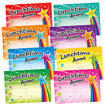 Lunchtime Award Megamix Certificates (48 Certificates - A5) Brainwaves