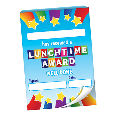 Lunchtime Award Praisepad - 60 Notes Home (A6)