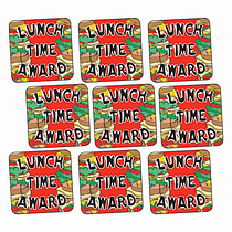 Lunchtime Award Stickers - Sandwiches (140 Stickers - 16mm)