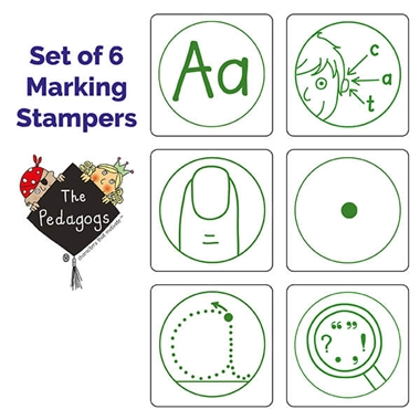 Marking Stampers Pedagogs Box Set of 6 Mixed Image