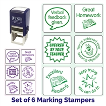 Marking Stampers Pedagogs - Literacy Set of 6