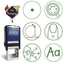 Marking Stampers Pedagogs - Literacy Set of 6