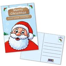 Merry Christmas Postcards Home (10 Postcards - A6)