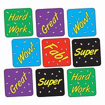 Metallic Stickers - Postive Phrases (140 Stickers - 16mm)
