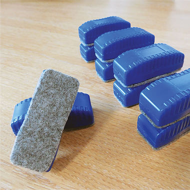 Mini Whiteboard Erasers (30 Erasers - 60mm x 22mm x 22mm)