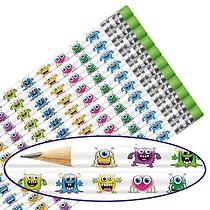 Monster Pencils (12 Pencils)