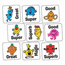 Mr Men Stickers (140 Stickers - 16mm)