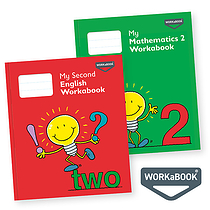 My Mathematics and English Workabooks 2