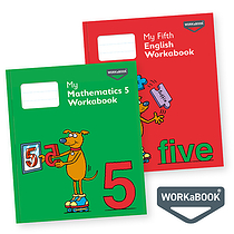 My Mathematics & English Workabooks 5