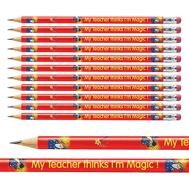 My Teacher Thinks I'm Magic Pencils - Metallic Finish (x12)