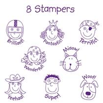 OFFER - Pedagogs Stampers - Supergogs (8 Stampers - 25mm)
