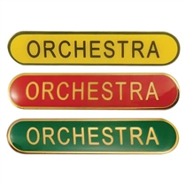 Orchestra Enamel Badges (45mm x 9mm)