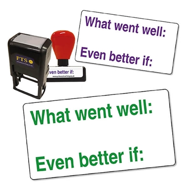 What Went Well Stamper (42mm x 22mm)