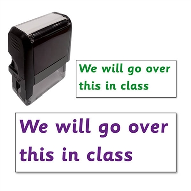 We will go over this in class Stamper (38mm x 15mm)