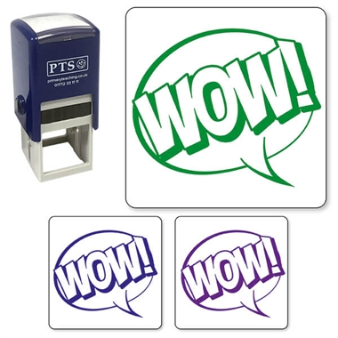 Wow Speech Bubble Stamper (25mm)