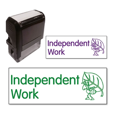 Independent Work Ant Stamper (38mm x 15mm)