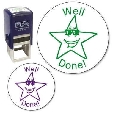 Well Done Star Stamper (21mm)