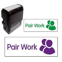 Pair Work Stamper (38mm x 15mm)