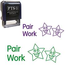 Pair Work Stamper - Stars (38mm x 15mm)