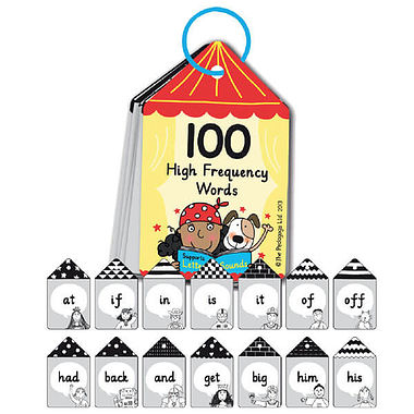 Pedagogs 100 High Frequency Key Words Keyring