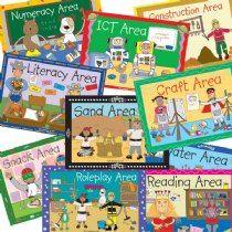Pedagogs Classroom Area Signs (A4 Size)