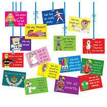 Pedagogs Classroom Dangles (A5 Card - 14 per pack)