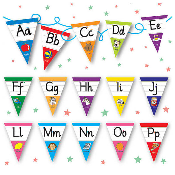 A To Z Stickers Primary Alphabet Letters