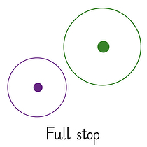 Pedagogs Marking Stamper - Full Stop (20mm)
