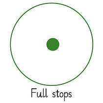 Pedagogs Marking Stamper - Full Stop - Green Ink (25mm)