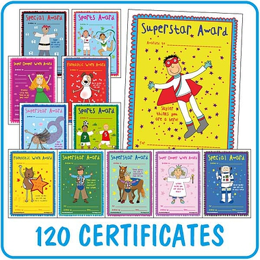 Pedagogs Mixed Certificates (120 Certificates - A5)