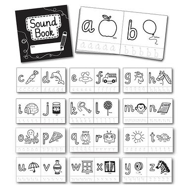 Pedagogs Phonics Book - DISCONTINUED10cm x 10cm)