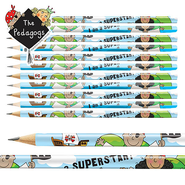 Pedagogs Pirate Pencils (12 Pencils)