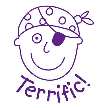 Pedagogs Stamper - Boy Pirate Terrific