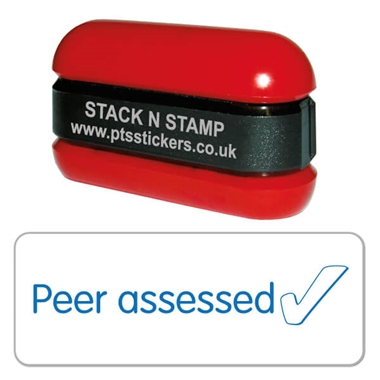 Peer Assessed Tick Stamper - Stack N Stamp