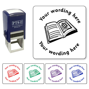 Personalised Book Stamper (25mm)