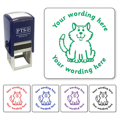 Personalised Cat Stamper (25mm)