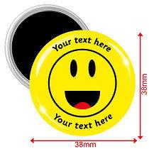 Personalised Emoji Magnets (10 Magnets - 38mm)