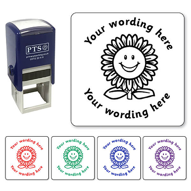 Personalised Flower Stamper (25mm)